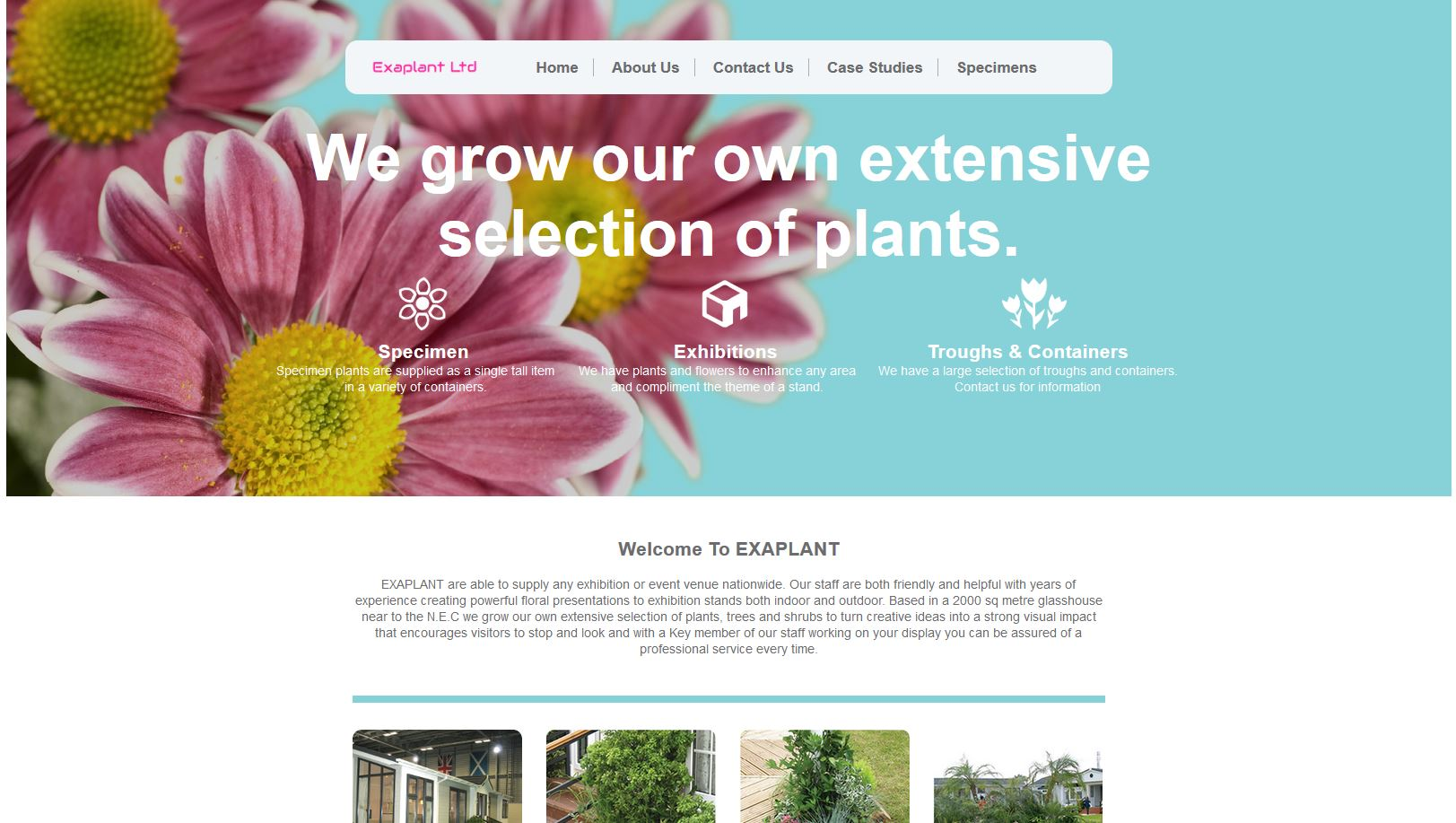 Exaplant Website